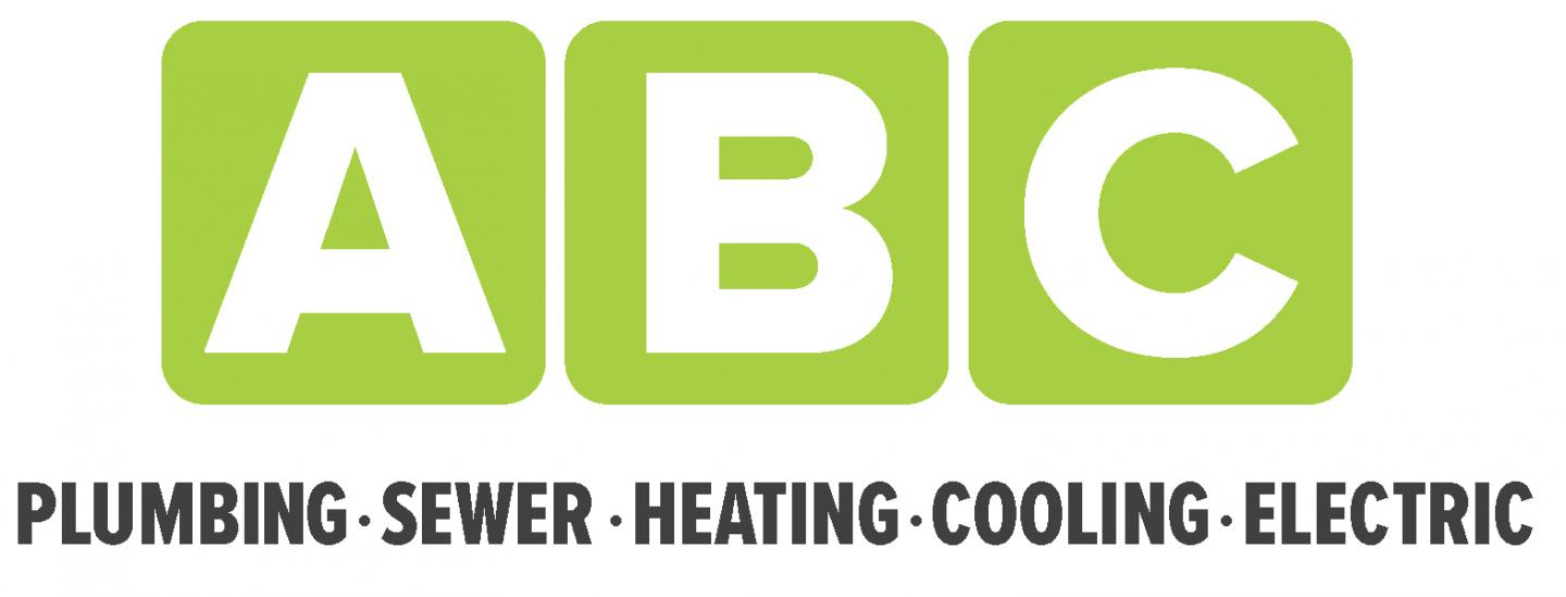 ABC Plumbing, Sewer, Heating, Cooling, and Electric Logo